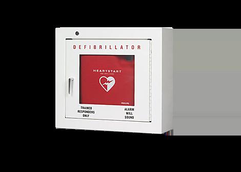HeartStart Defibrillator Cabinet